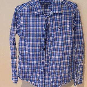 Ralph Lauren polo button down shirt EUC